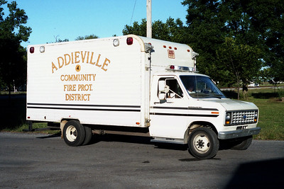 ADDIEVILLE  RESCUE 144   1984 FORD E350 - CARGOMASTER
