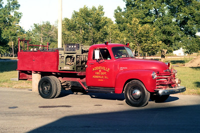 ADDIEVILLE  ENGINE 123   1949 CHEVY 3800 - FD BUILT   300-0