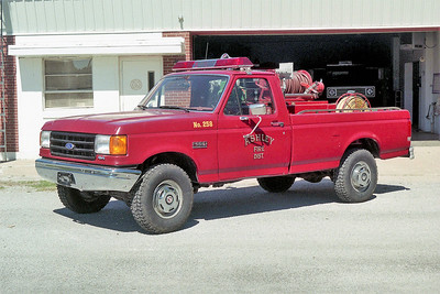 ASHLEY BRUSH 258  1988 FORD F250 - FD BUILT  125-200