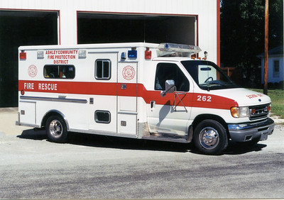 ASHLEY RESCUE 262  1997 FORD E350 - WHEELED COACH