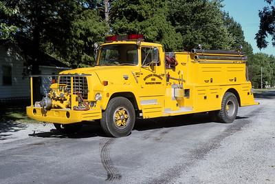 HOYLETON ENGINE 522  1982 FORD L8000 - TOWERS  750-1400   #1731