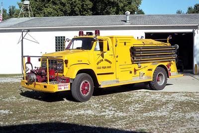 HOYLETON  ENGINE 525  1972 GMC 7500 - TOWERS  750-800