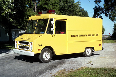 HOYLETON  RESCUE 563  1977 CHEVY STEPVAN
