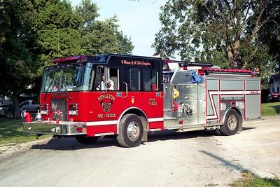 HOYLETON ENGINE 4523   2004 SPARTAN ADVANTAGE - CRIMSON  1500-750  # 04038-001