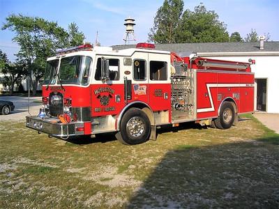HOYLETON   ENGINE 4525  1998 KME EXCEL  1250-1000   #3606