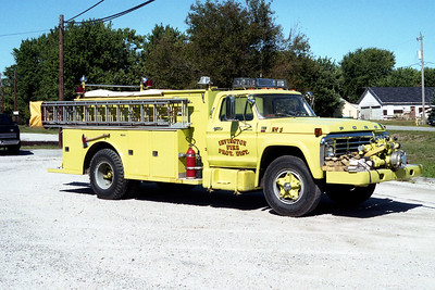IRVINGTON   ENGINE 623  1980 FORD F800 - TOWERS   750-750   #1664