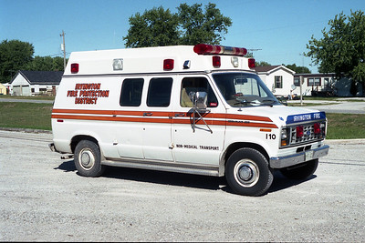 IRVINGTON RESCUE 640   1987 FORD E250 - WHEELED COACH