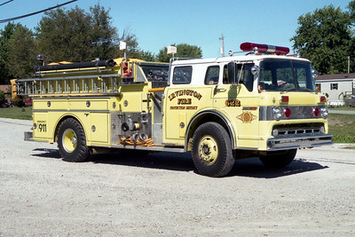 IRVINGTON  ENGINE 622  1982 FORD C8000 - GRUMMAN   1000-1000   #16411