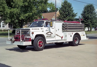 OKAWVILLE ENGINE 1  1987 CHEVY C70 - TOWERS  750-500   #1655