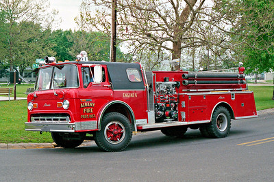 ALBANY FPD  ENGINE 106 1978 FORD C900 - ALEXIS  750-750   #1169