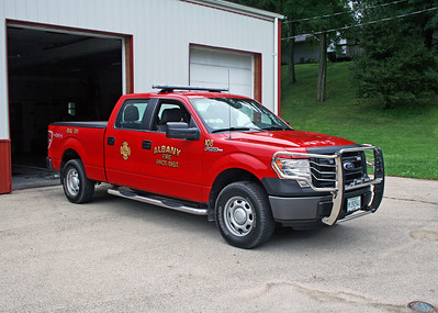 ALBANY FPD  UTILITY 108  2013 FORD F150 4X4