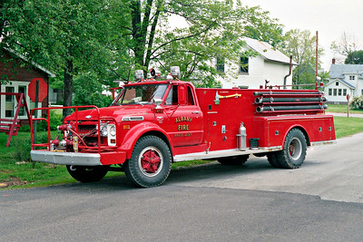 ALBANY FPD  TANKER 103  1968 CHEVY C60 - ALEXIS  500-1000   #873  PHOTO 2