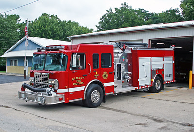 ALBANY FPD  ENGINE 106  2011 SPARTAN GLADIATOR - ALEXIS  1500-1000-30F   #2131