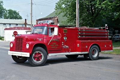 COLETA FIRE DISTRICT  TANKER 625