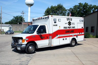 ERIE  AMBULANCE 1-G-30  2006 FORD E450 - MEDTEC  #6960