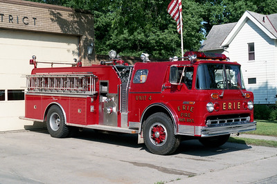 ERIE  ENGINE 4   1982 FORD C8000 - ALEXIS   1000-1250   #1304