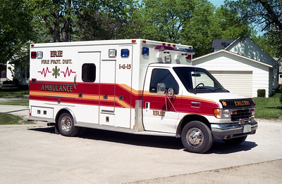ERIE AMBULANCE 1-G-15