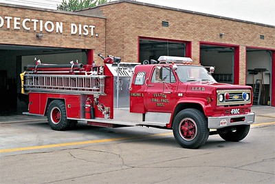 FULTON ENGINE 1  1984 CHEVY C65 - FMC  750-1000   #40-84
