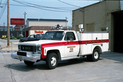 MORRISON  RESCUE 1  1979 CHEVY C30 - PIERCE