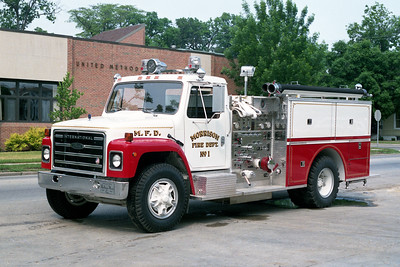 MORRISON  ENGINE 1 1984 IHC S - PIERCE  1000-500