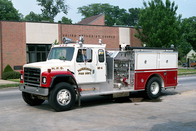 MORRISON  ENGINE 4  1990 IHC S - PIERCE  750-750