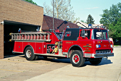 PROPHETSTOWN  ENGINE 5  FORD C - ALEXIS