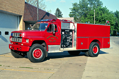 PROPHETSTOWN  ENGINE 6  FORD F - PIERCE