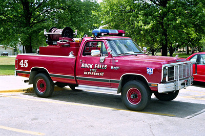 ROCK FALLS BRUSH 45  DODGE