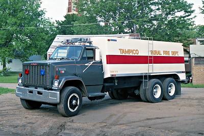 TAMPICO RURAL FPD  TANKER 4  1980  GMC BRIGADIER - BRENNER   0-3600