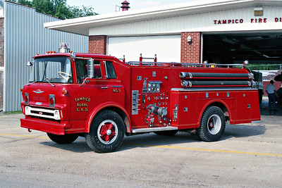 TAMPICO RURAL FPD  ENGINE 5  1967  CHEVY - HOWE   750-500