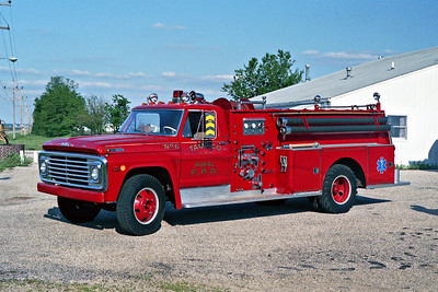 TAMPICO RURAL FPD  ENGINE 6  1968  FORD F600 - DARLEY   750-500