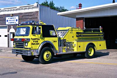 TAMPICO RURAL FPD  ENGINE 8  1979  IHC CARGOSTAR 1910 - ALEXIS   1000-750