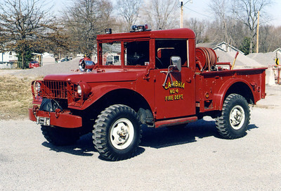 CAMBRIA  BRUSH 4  JEEP - FD BUILT    FRANK WEGLOSKI PHOTO