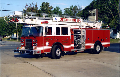 CARTERVILLE  LADDER 902   1999 PIERCE SABER  1500-500-61'    FRANK WEGLOSKI PHOTO
