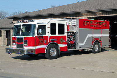 CARTERVILLE FD ENGINE 903  2008 KME 1500-1500-20F