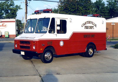 CARTERVILLE  RESCUE 905   1978 CHEVY - 1990 FD BUILTFRANK WEGLOSKI PHOTO