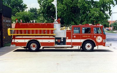 HERRIN  ENGINE 812  PIERCE ARROW  OFFICERS SIDE