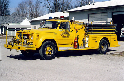 HURST  ENGINE  1  DODGE 200 - TOWERS  FRANK WEGLOSKI PHOTO