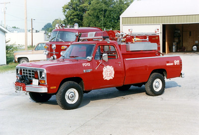 MARION  BRUSH  13   DODGE RAM 4X4  - FD BUILT