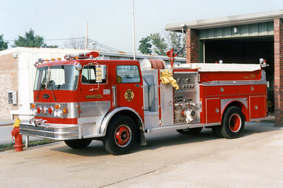 MARION  ENGINE 12    E-ONE