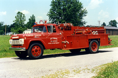 PITTSBURG  TANKER 1   FORD F - FD BUILT