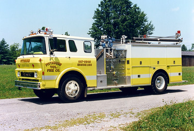 PITTSBURG ENGINE 203   GMC - SEAGRAVE