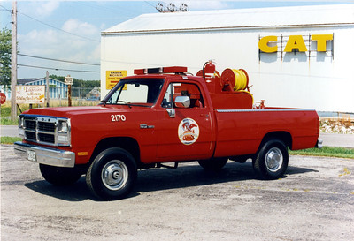 WILLIAMSON COUNTY BRUSH 2170    DODGE RAM 360 - FD