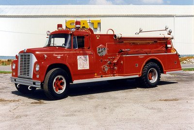 WILLIAMSON COUNTY ENGINE 2151  1966 IHC - CENTRAL 750-750  X-BRADEN RIVER FIRE DISTRICT,FL