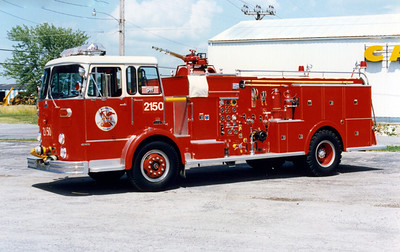 WILLIAMSON COUNTY ENGINE 2150   1965 CROWN  1250-1000 X-PIERCE COUNTY  FD DISTRICT 4,WA  F-1413