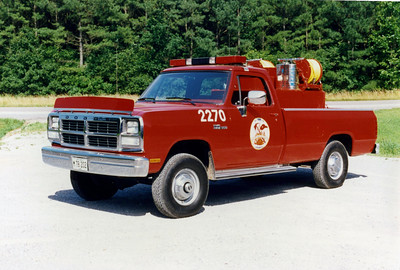 WILLIAMSON COUNTY BRUSH 2270    DODGE RAM 360 - FD
