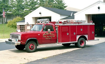 CHERRY VALLEY FPD  RESCUE  DODGE - E-ONE  RED