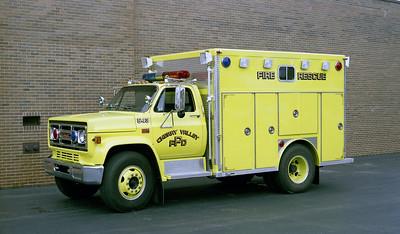CHERRY VALLEY FPD  SQUAD 543  1982  GMC - EONE