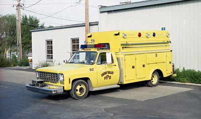 CHERRY VALLEY FPD  SQUAD 540  1975  CHEVY - ALEXIS