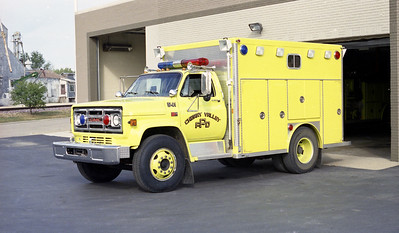 CHERRY VALLEY FPD  SQUAD 541  1982  GMC - E-ONE